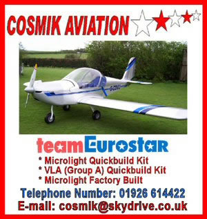 Cosmik aviation helping to keep basic adverts free on AFORS