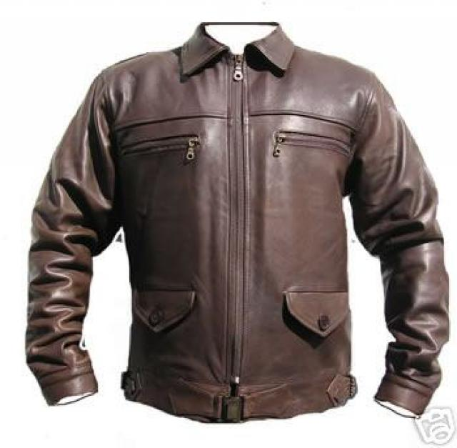 Luftwaffe Fighter Pilot Leather Jacket - Pre 1945